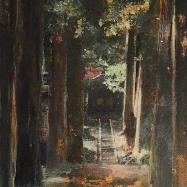Forêt au Japon